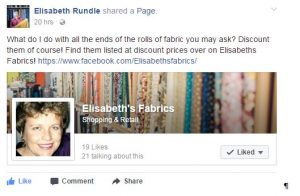 Elisabeth's Fabrics