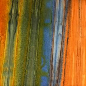 Orange Yellow Batik