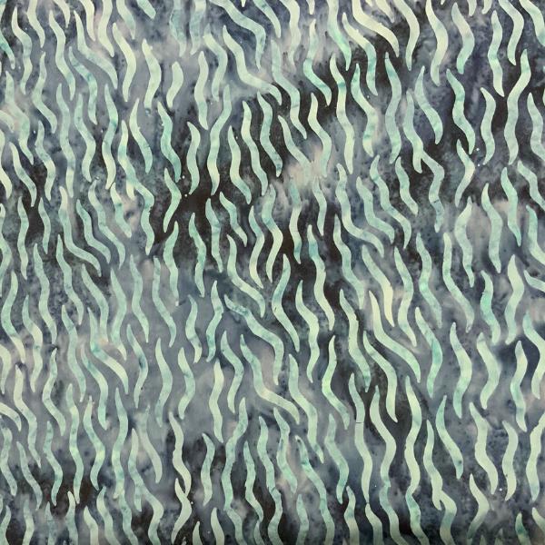 Navy blue weave pattern batik