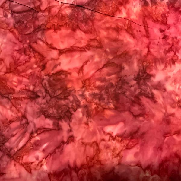 Red allover pattern batik