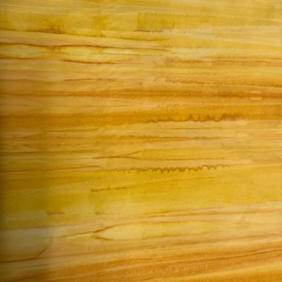 Multi yellow stripe batik