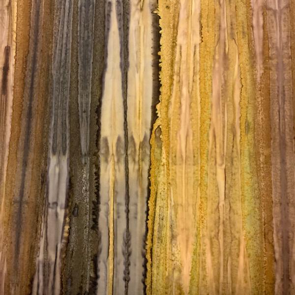 Tonal brown stripe batik