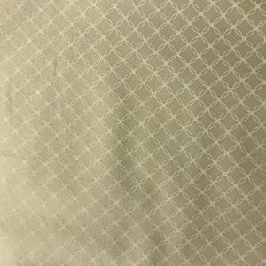 Cream with White Circles