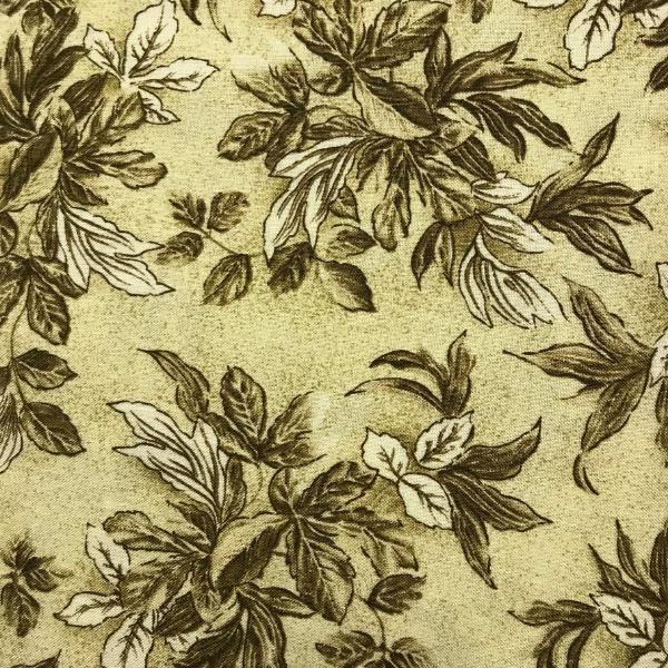 Tonal Brown Floral design