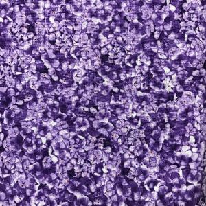 "Purple and Violet Hydrangeas ""Cottage Flowers"""