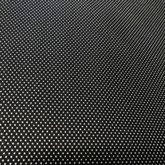 Paintbrush Studio Microdots White on Black