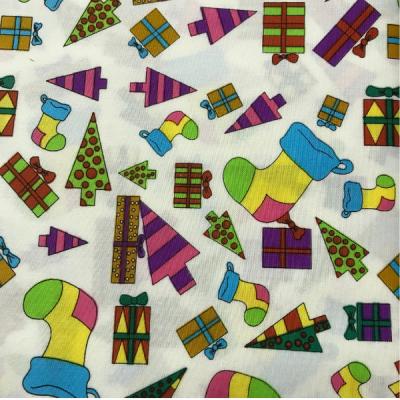 Novelty Christmas White By Hill-Berg Fabrics