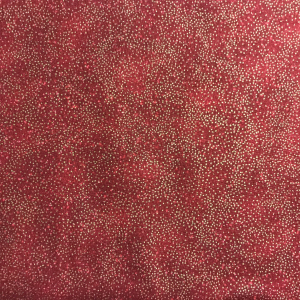 Speckled Red Style 68555 with metallic gold