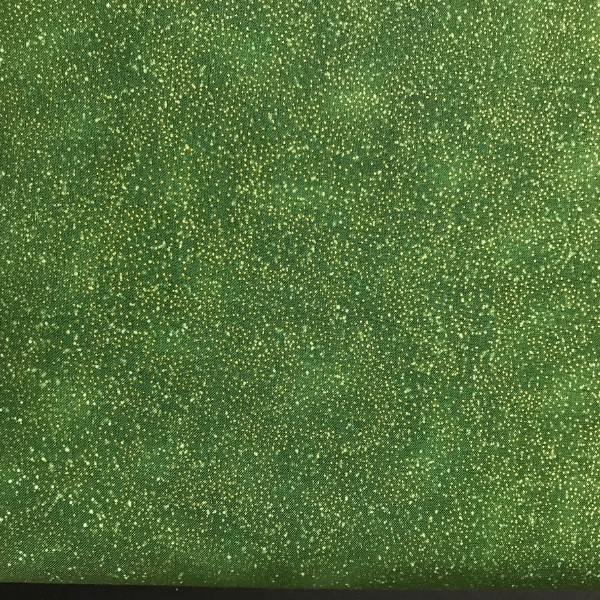 Speckled Grass Green Style 68555 with metallic gold