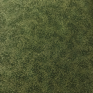 Speckled Pesto Green Style 68555 with metallic gold