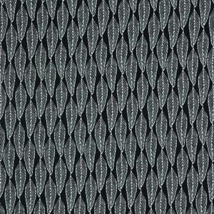 Emma Jean Jansen Classics Gum Leaf Pattern Black